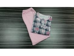 юношеска пижама с дълъг ръкав щампа момче/момиче