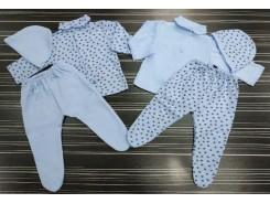 бебешки комплект жилетка и ританка интерлог