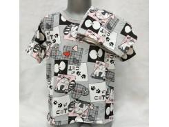 детска пижама къс ръкав ротацион