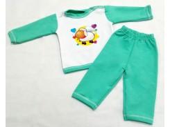 бебешки комплект блузка с панталон